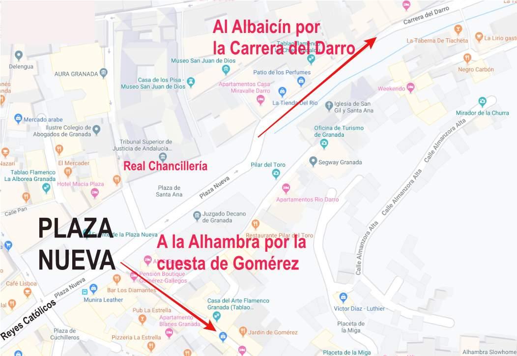 Desde Plaza Nueva