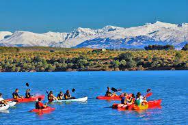 Kayak en Granada
